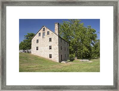 Gristmill @ Mount Vernon Framed Print by Jason Huffman