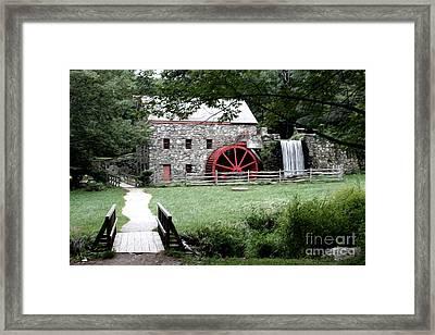 Gristmill Art Framed Print by Jayne Carney