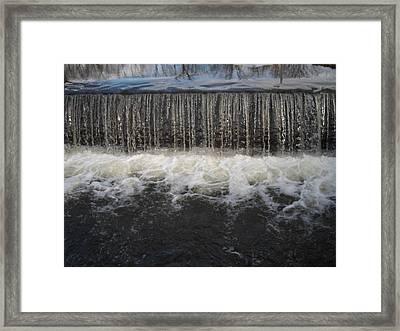 Gristmill River Framed Print