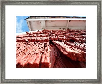 Gristmill Walls Framed Print
