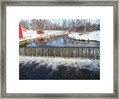 Gristmill Waters Framed Print by Jenna Mengersen