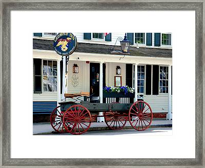Griswold Inn And Tavern Framed Print by Caroline Stella