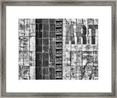 Gritty Palace Framed Print