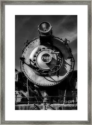 Gritty Power Framed Print by Skip Willits