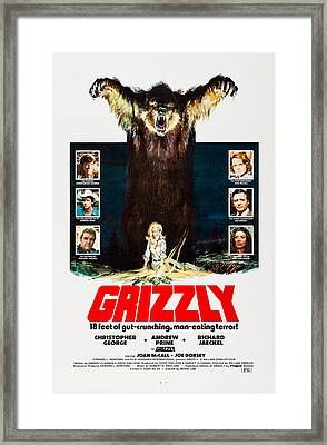 Grizzly, Us Poster, Left From Top Framed Print