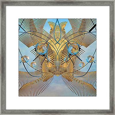 Grobo Experiment 3 Framed Print