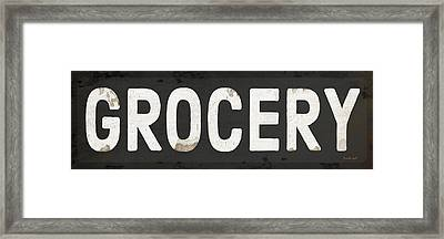 Grocery Framed Print by Jennifer Pugh