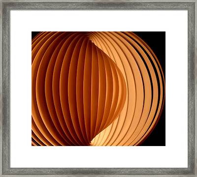Groovy Abstract 5 Framed Print by Newel Hunter