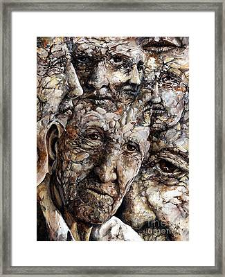 Grooves Framed Print by Emerico Imre Toth
