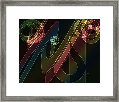 Groovin' Framed Print by Anthony Caruso