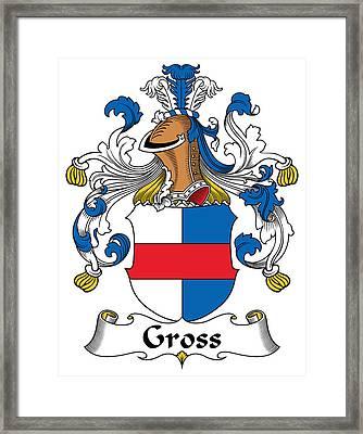 Gross Coat Of Arms German Framed Print