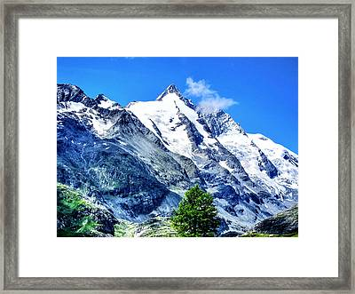 Grossglockner Framed Print by Andreas Thust