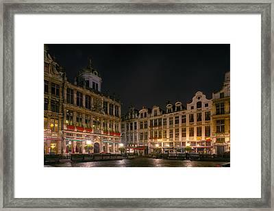 Grote Markt Brussels Framed Print