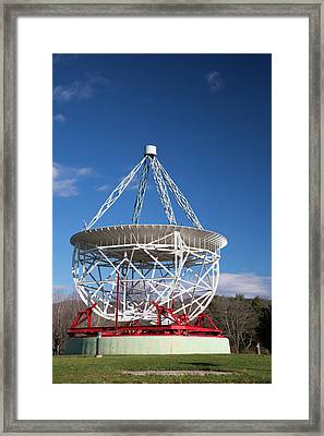 Grote Reber's Radio Telescope Framed Print by Jim West