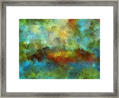 Grotto Framed Print by Ely Arsha