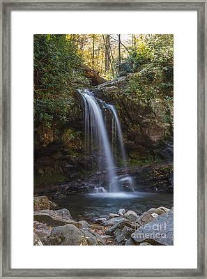 Grotto Falls I Framed Print