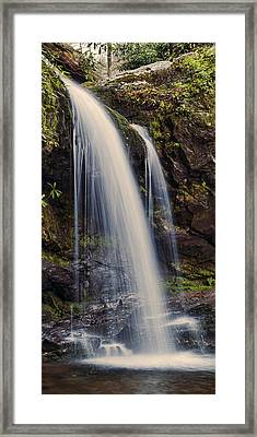 Grotto Falls Tennessee Framed Print by Heather Applegate