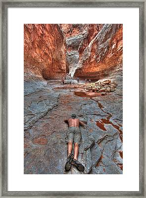 Grotto Stretch Framed Print