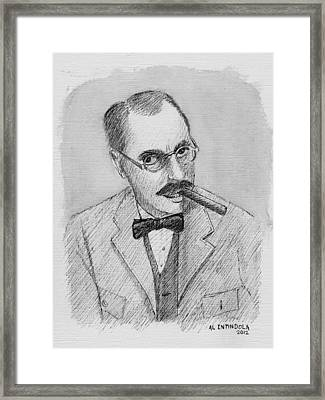 Groucho Framed Print