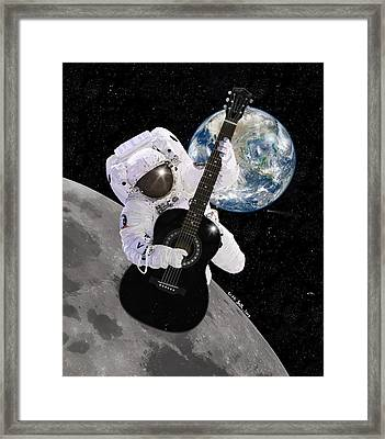Ground Control To Major Tom Framed Print by Nikki Marie Smith