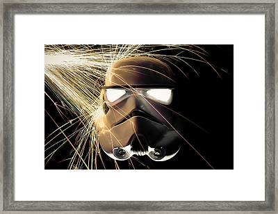 Ground Trooper Framed Print by Randy Turnbow