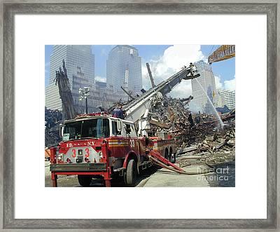 Ground Zero-1 Framed Print by Steven Spak