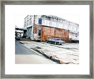 Ground Zero Blues Framed Print