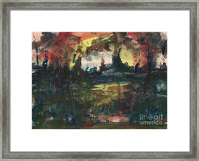 Ground Zero Framed Print