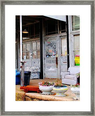 Ground Zero Clarksdale Mississippi Framed Print by Lizi Beard-Ward