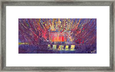 Groundation At Arise Music Festival Framed Print by David Sockrider