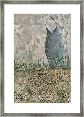 Grounded Framed Print by Aprille Lipton