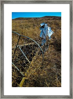 Grounded2-hdr Framed Print