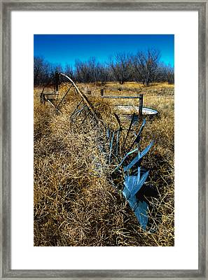 Grounded3-hdr Framed Print