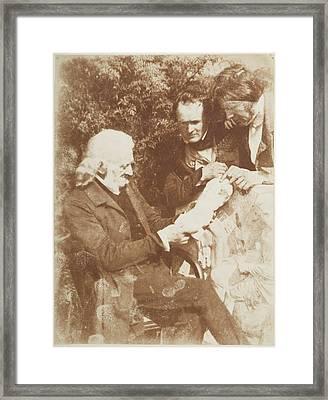 Group Of Artists Framed Print