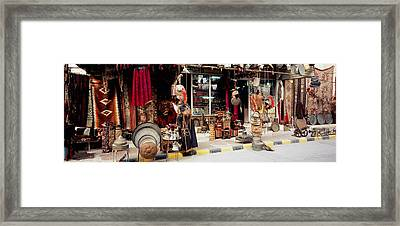 Group Of Objects In A Market, Palmyra Framed Print by Panoramic Images