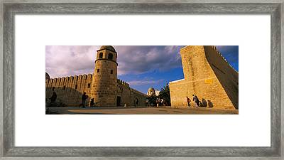 Group Of People At A Mosque, Great Framed Print by Panoramic Images