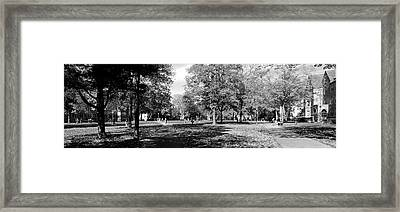 Group Of People At A University Campus Framed Print by Panoramic Images
