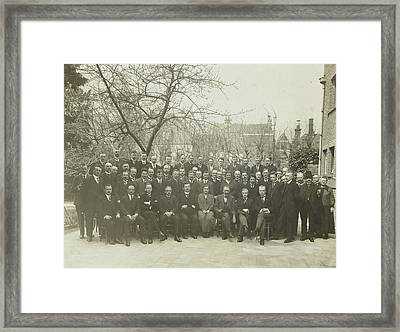 Group Portrait, Nederlandsch Fotopersbureau Framed Print by Artokoloro