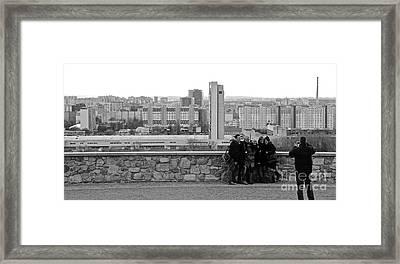 Group Shot Framed Print by David Warrington