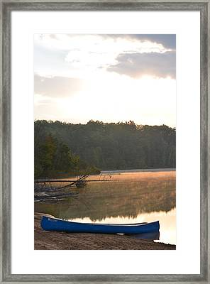 Grousehaven Lake - Rifle River State Park Framed Print by Jennifer  King