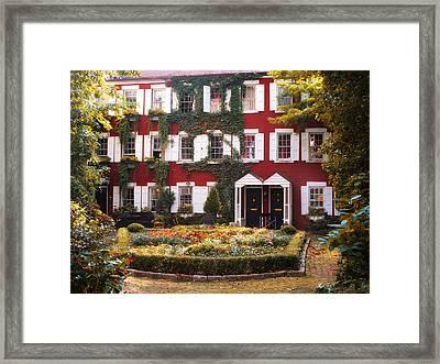 Grove Court Charm Framed Print by Jessica Jenney