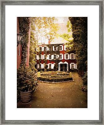 Grove Court Framed Print by Jessica Jenney