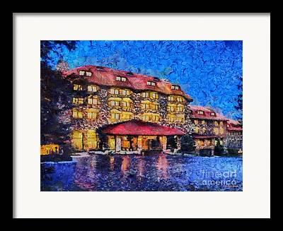 Grove Park Inn Paintings Framed Prints