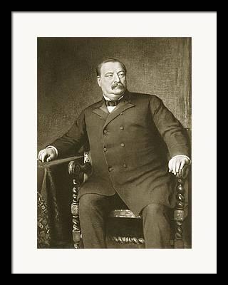 Presidential Portraits Drawings Framed Prints