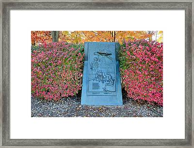 Grovers Mill Martian Landing Site Framed Print by Steven Richman