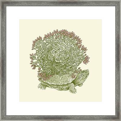 Grow Framed Print by Eric Fan