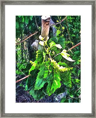 Grow Positively Framed Print