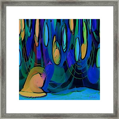 Grow Where You Are Planted Framed Print by Alec Drake