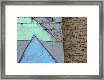 Growing Across Framed Print by Natalie Lizza