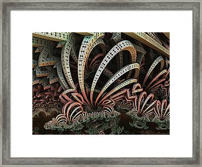 Growing Off The Rails Framed Print by Ricky Jarnagin